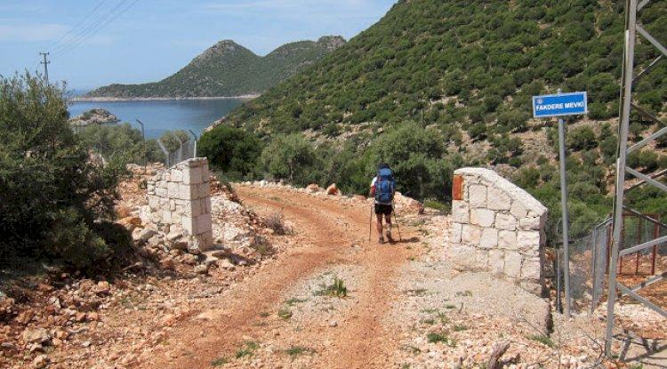 Kaş Bayındır Köyü Likya Yolu