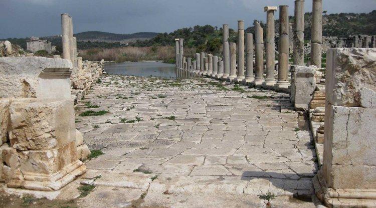 Patara Antik Kenti -Patara Antik Kenti Yürüyüş Yolu