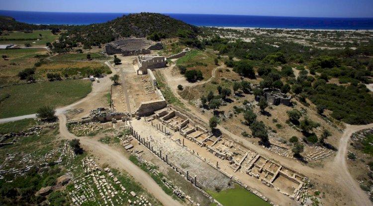 Patara Antik Kenti Fotoğrafları -  Kuş Bakışı 2