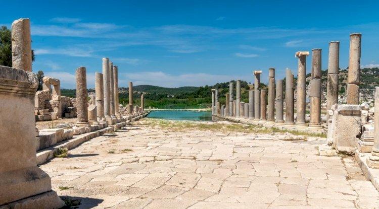 Patara Antik Kenti Likya Yürüyüş Yolu - Cumhuriyet Meydanı
