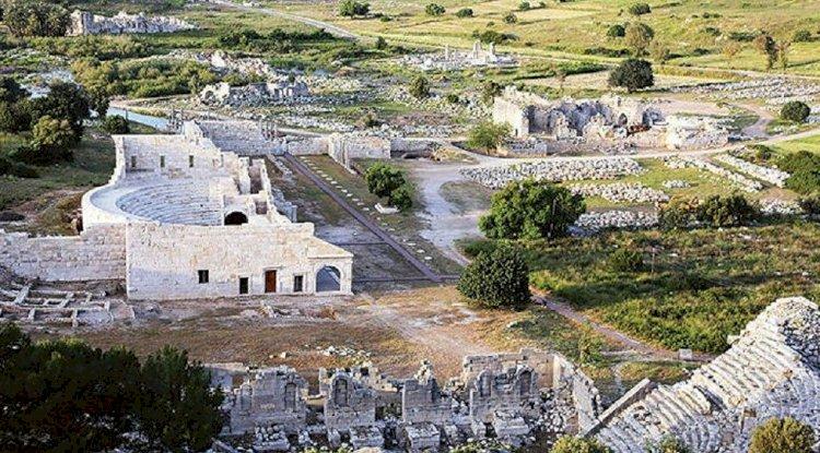 Patara Antik Kenti Fotoğrafları -  Kuş Bakışı 3