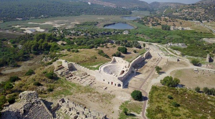 Patara Antik Kenti Fotoğrafları -  Kuş Bakışı 1