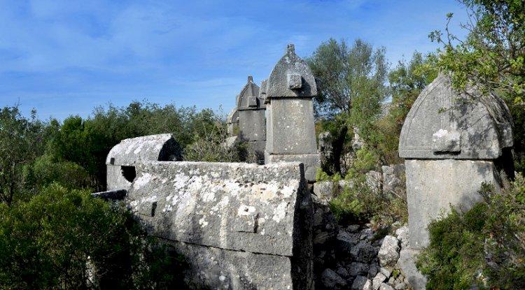 Corba Antik Kenti Fotoğrafları -Kyaneai Ören Yeri Fotoğrafları 1