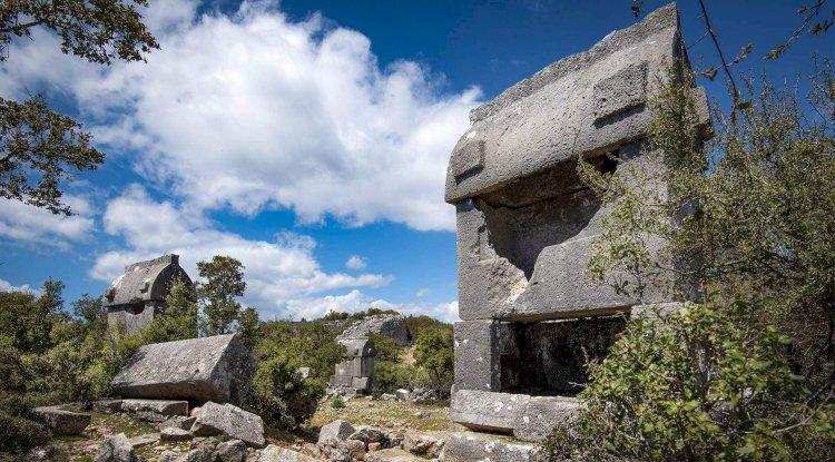 Corba Antik Kenti Fotoğrafları -Kyaneai Ören Yeri Fotoğrafları 2