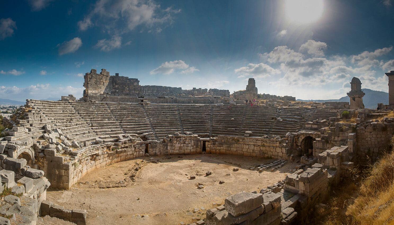 Xanthos Antik Kenti - Xanthos Antik Kenti Nerede - Xanthos Antik Kenti Ulaşım