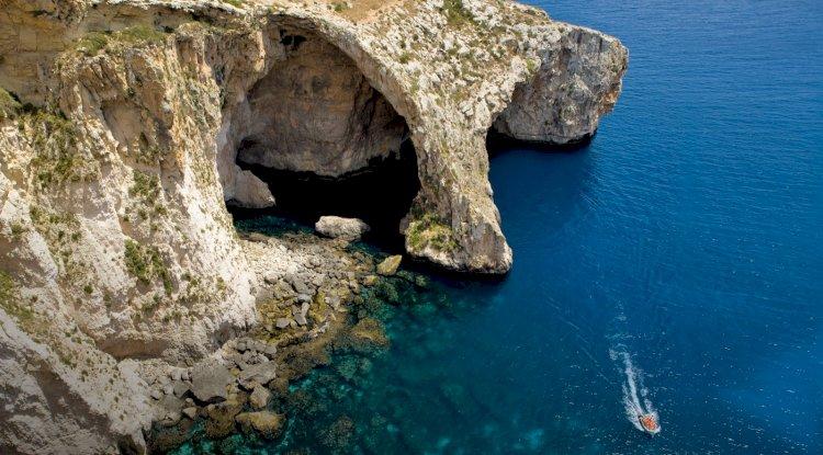 Güvercinlik Deniz Mağarası - Kalkan Güvercinlik Deniz Mağarası