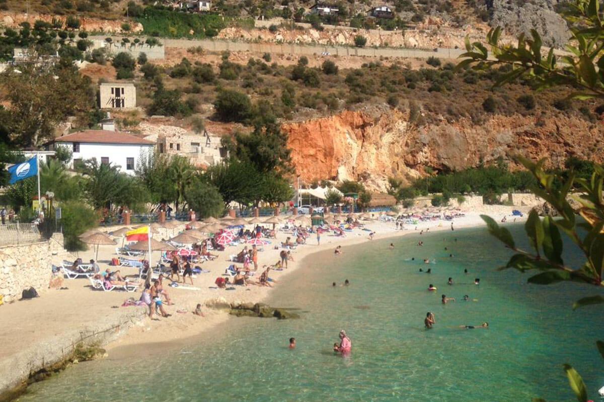 Kalkan Plajı Fotoğrafı