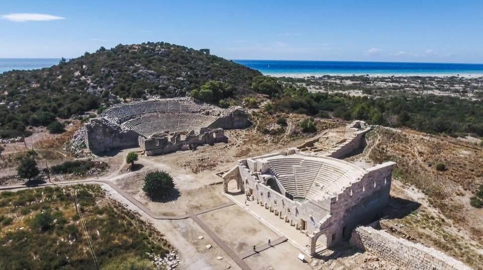 Kınık Tarihçesi - Xanthos Antik Kenti Antik Tiyatro