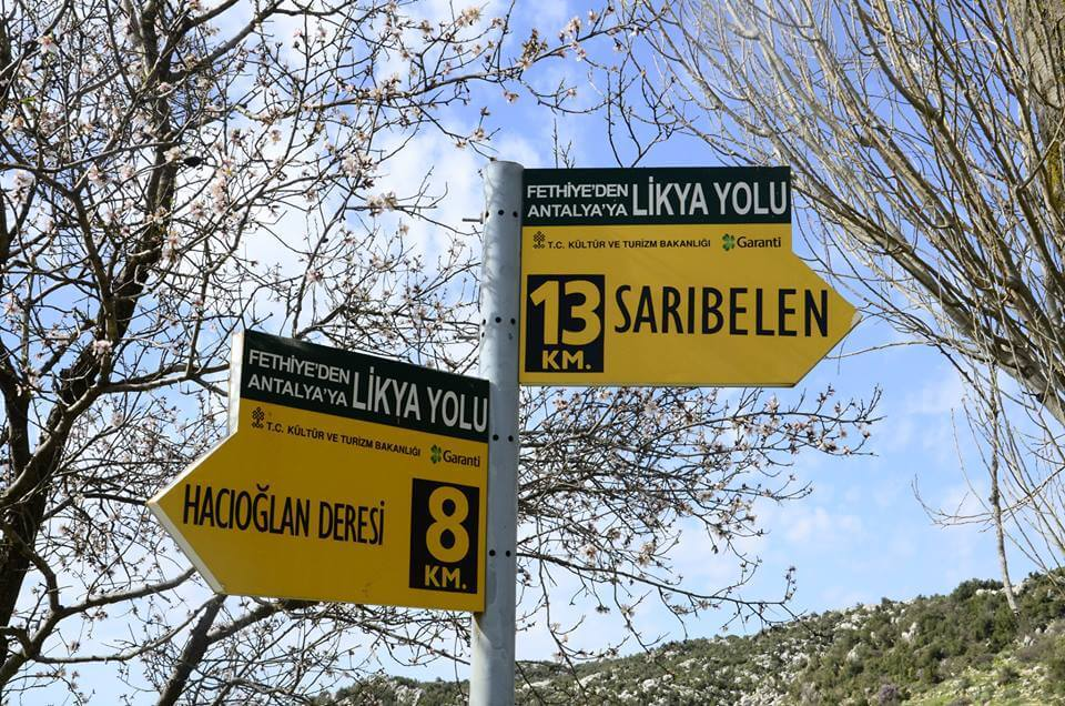 Sarıbelen Köyü - Sarıbelen Mahallesi - Likya Yolu