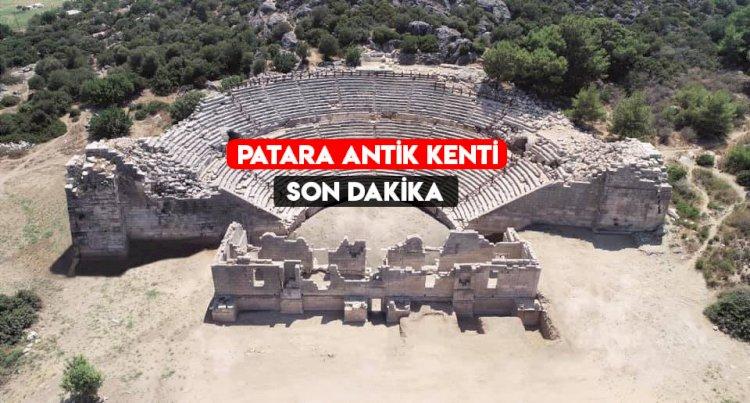 PATARA SON DAKİKA GELİŞMELER - PATARA YILI